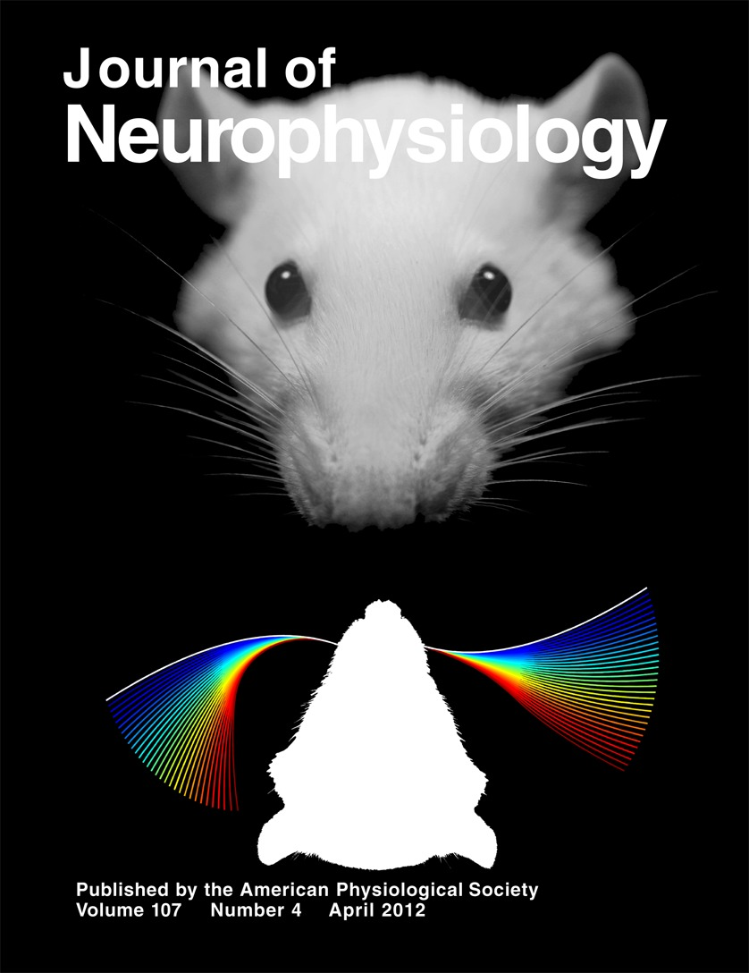 Journal of Neurophysiology cover, April 2012
